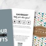 Firmagave: Et gavekort til en hel gavebutik
